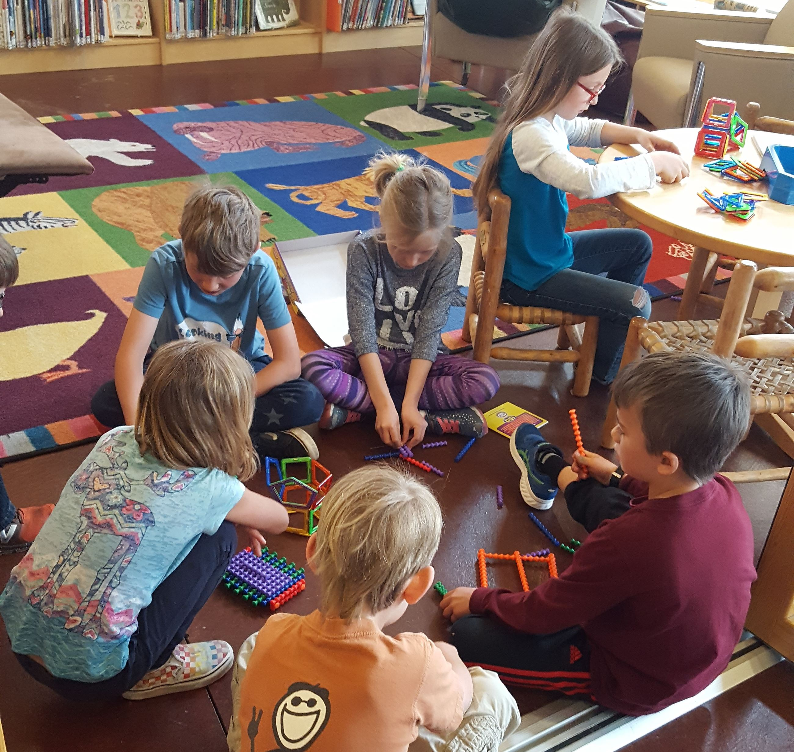 image of kids playing at the Alta library