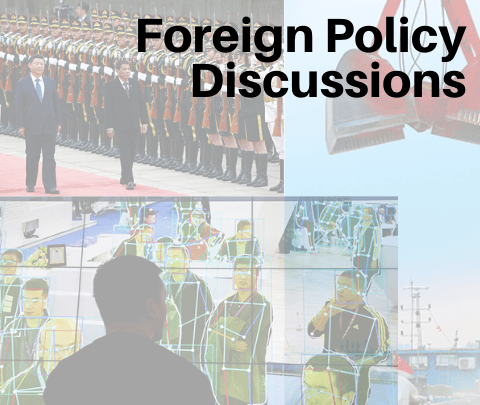 images from global events for foreign policy discussion series