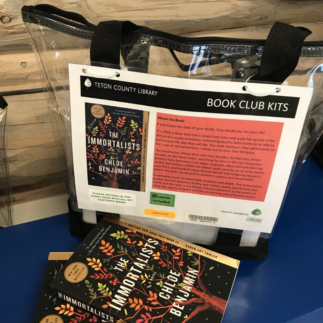 image of a book club kit
