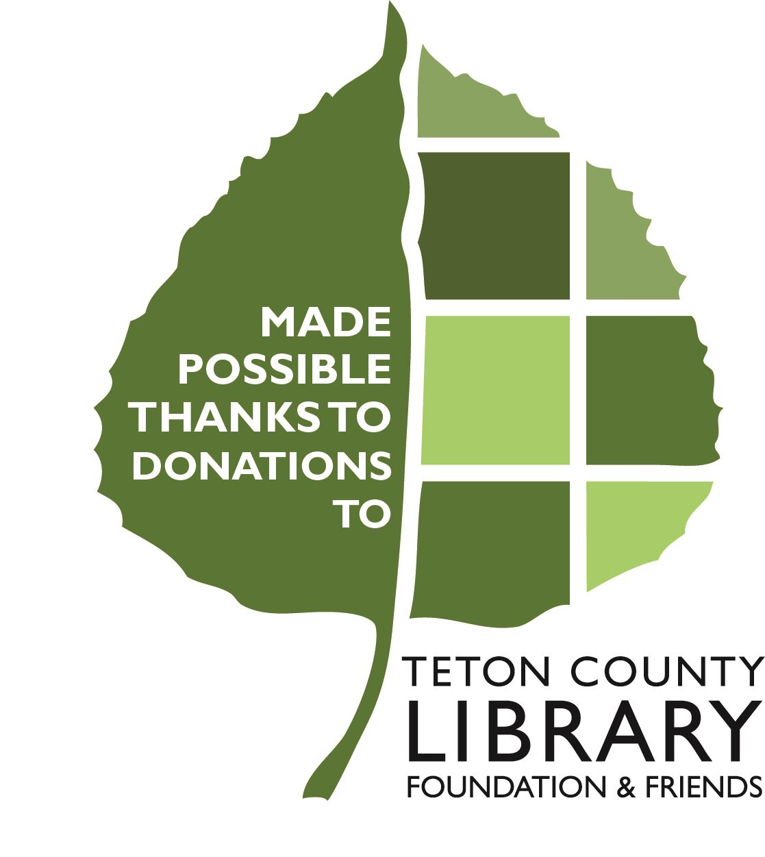 image of TCL logo with donations wording
