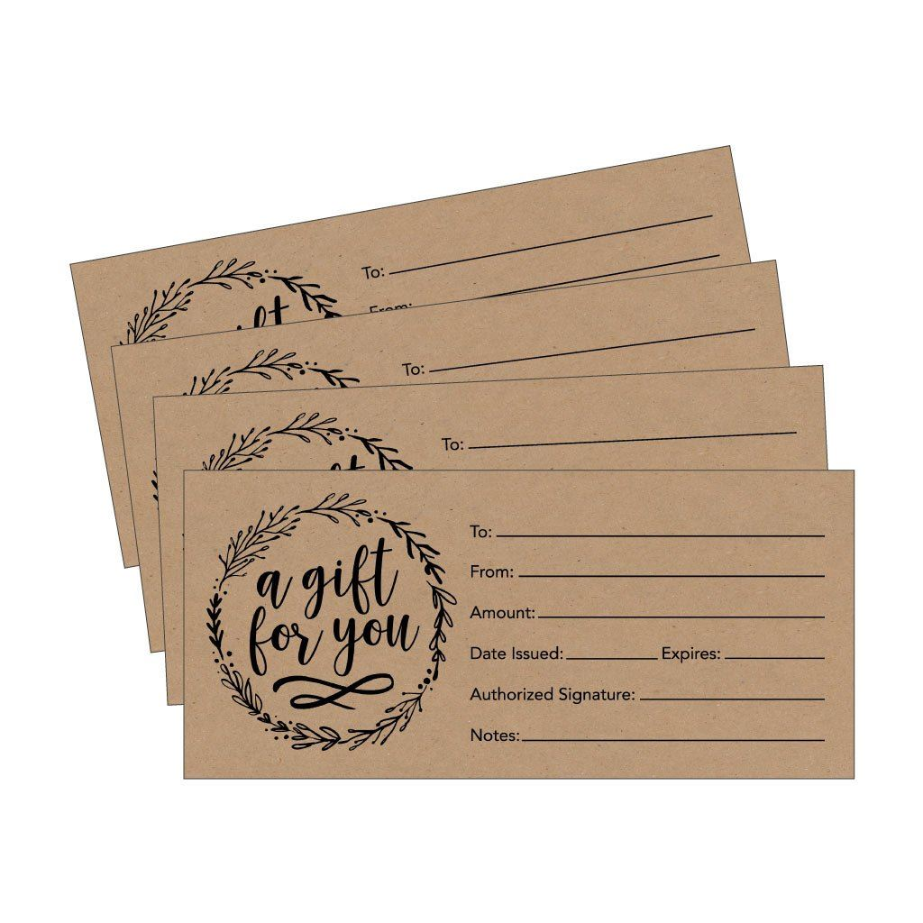 images of gift certificates