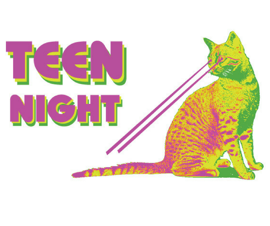 image of teen night logo