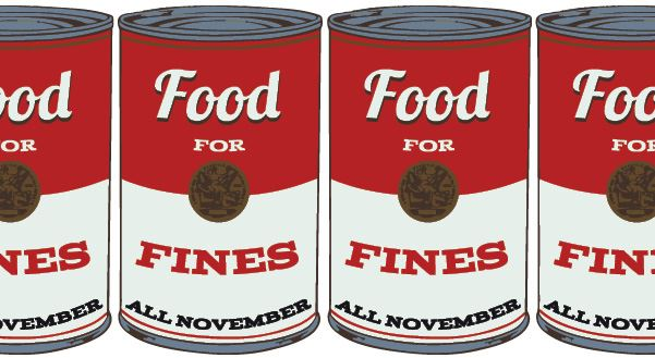 Food for Fines canned food