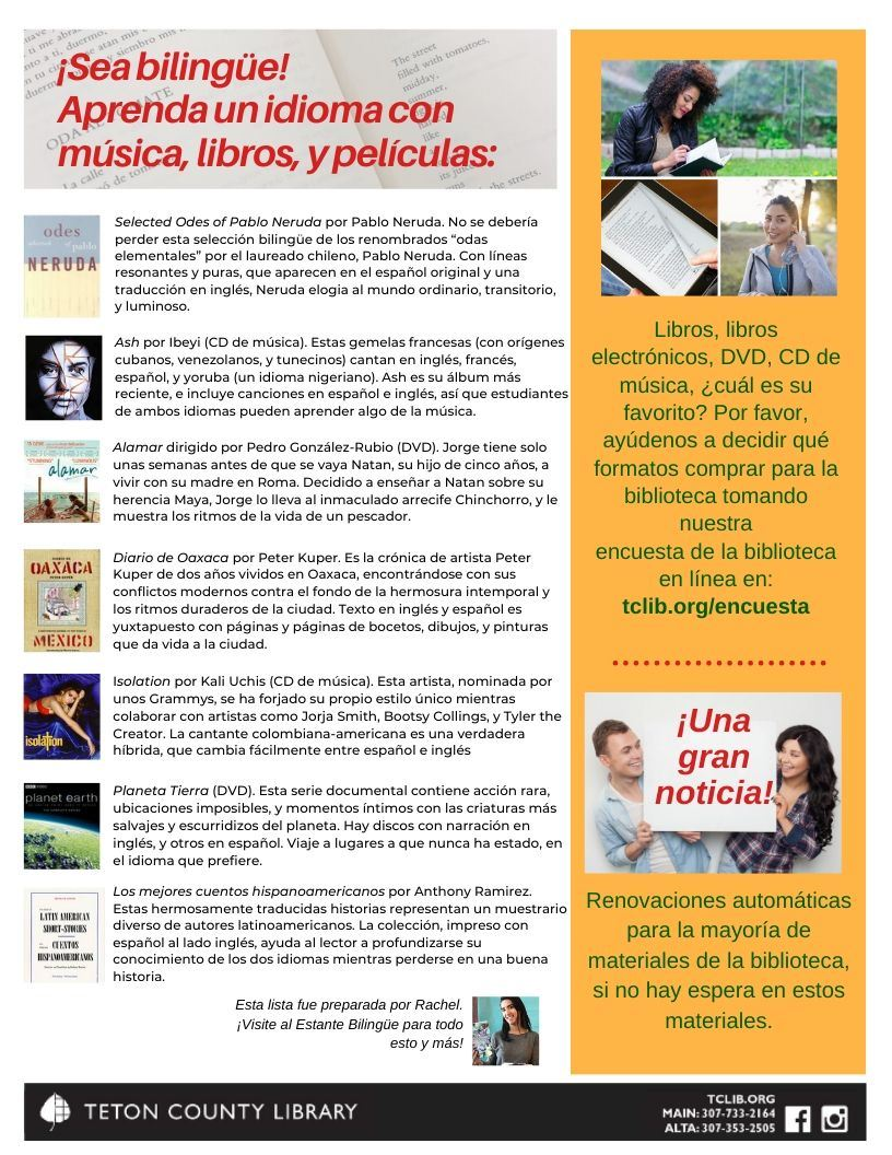 image of Spanish Fall newsletter page 2